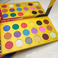 BOX OF CRAYONS Cosmetics Eyeshadow Palette 18 Colori Eyeshadow Palette Shimmer Matte EYE beauty Spedizione DHL