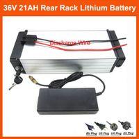 1000 W 36 V 21AH Elektrikli Bisiklet lityum pil Arka raf pil 36 V Samsung ICR18650-30B için kullanın Cep 30A BMS, 42 V 2A şarj