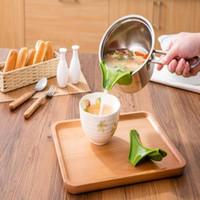Главная Силиконовая жидкость воронка утечки рот высокое качество кухонные инструменты анти-разлива посуда круглый полезный налить суп инструмент