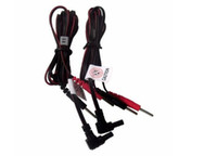 20 stks Veiligheidsstekker Elektrode Gezondheidszorg Tens Machine Pijn Relief Eenheid Pad Lood Wire Connect Cable Cord Vervanging voor TENS 700
