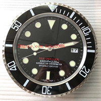 5 색 우수 고전 시리즈 벽시계 126660 126600 116660 34CM x 5CM 스테인레스 스틸 쿼츠 크로노 그래프 홈 인테리어 시계