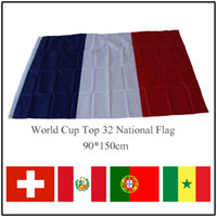 2018 World Cup Top 32 National Flag 90*150cm Polyester Flags...