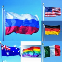 3*5ft 90*150cm Rainbow Flags 26 Design National Flag For Wor...