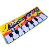 BOHS Parmak Dokunmatik Oyun Çocuk Elektronik Piyano Klavye Müzikal Şarkı Halı Oyuncaklar