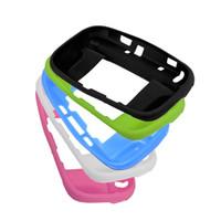 5 Renkler Silikon Kauçuk Durumda Konsolu Koruyucusu Ultra Yumuşak Jel Kapak WiiU Wii U Gamepad için Cilt Kabuk DHL FEDEX EMS ÜCRETSIZ KARGO