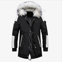 Men Winter Jackets Hooded Warm Parkas New Fashion Men Outwea...