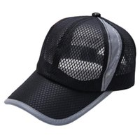 Mesh sports cap Breathable men' s and women' s adjus...