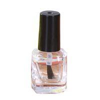 Bouteilles de vernis à ongles vides Bouteille en verre transparent avec capuchon de brosse Utilisé pour le vernis à ongles Dissolvant et manteau de base 18 styles pour choisir