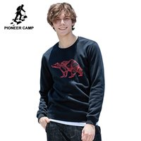 Pioneer camp new winter hoodies sweatshirt men brand clothin...