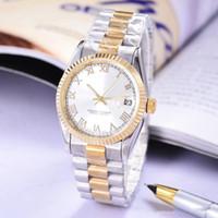 Horloge moderne designer hommes montres mécaniques 2018 luxe célèbre marque  or montre femmes modèle unique calendrier minimaliste en acier inoxydable 0e475da38d5