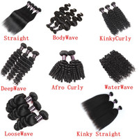 Brazillian Body Wave Straight Hair Extension Unprocessed Bra...
