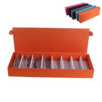 Gafas de sol caja doble capa 8 ranuras gafas de almacenamiento de regalo Organizador Gafas Gabinete caja coleccionista, caja de almacenamiento de gafas de sol