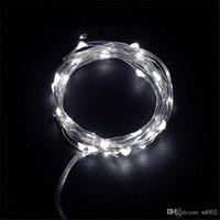 Exquise Petite Lampe Star Bouton Batterie Couleur Led Chaîne Cuivre Fil Décoration Chaude Pure Lumière Blanche Avec Multicolore 3 1yl cc