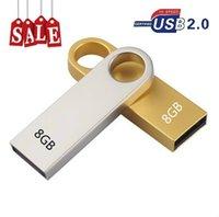 Бесплатный логотип металла водонепроницаемый 2.0 USB флэш-накопители ударопрочный U диск карты памяти 4 ГБ 8 ГБ 16 ГБ 32 ГБ 64 ГБ