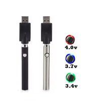 정점 LO 변수 전압 배터리 USB 충전기 350mAh CO2 두꺼운 기름 예열 BUD 터치 Vape 펜 (510) 분무기 CE3 탱크 G2 카트리지와
