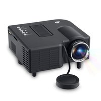 UC28 + Film Mini Projektor HD LCD Tragbare Projektoren Multimedia Video Player HDMI VGA USB SD AV Schnittstellen Heimkino für Party