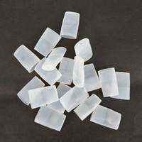 Tapones desechables de la tapa de la boquilla del probador plano del silicón de la cápsula para la mayoría de las vainas Vape disponible Vapo Pod Vgod Stig Vapores de Vape disponibles COCO