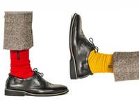 Peonfly domingo engraçado inglaterra cavalheiro cor de alto bordado feliz algodão puro mens meias 7 pares / lote vestido venda quente