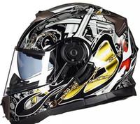 Casco de la motocicleta con el calor individual y antiniebla cascos de la motocicleta