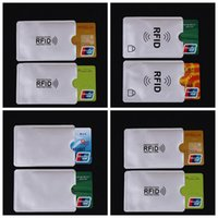 Businees Anti-theft Card Minder RFID Blocking Porta carte di credito Porte Carte Covers per carte di credito ID Porta carte di credito CCA9934 2000 pezzi