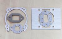 Zenoah G4L G4LS için 2 X Conta seti motor carbuertor susturucu krank silindir karbonhidrat contaları repl. komatsu parçaları