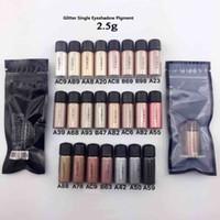Wholesale Best Selling Eye Cosmetics Single Eye Shadow Powder Pigment 23 Colors Long Wear Glitter Eyeshadow Pigmented Highlighter Free Ship