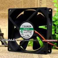 Para original Jianjun / SUNON KDE1209PTV1 9025 12V 1.8W 9CM ventilador de fuente de alimentación del chasis