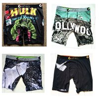Ethika uomo Staple biancheria intima arcade pac man stampa sport hip hop rock excise pugili di skateboard street fashion streched legging quick dry