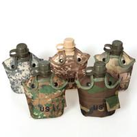 Botellas de agua plásticas a prueba de calor de la caldera de EE. UU. Creativa con mantener caliente la cubierta del paño del camuflaje Calderas populares 24hl B