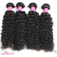 Hot Selling!!!7A Malaysian Kinky Curly Hair Weave 4 Or 5 Bun...