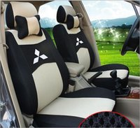 Black Car Seat Cover for Mitsubishi Lancer All Seasons Full ...