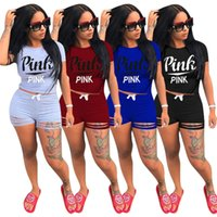 1 Short Sleeve T Shirt+ 1 Short Pants LOVE PINK Women' s ...