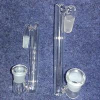 Выпадающий адаптер для стеклянного бонга 10 стилей, мужской или женский, 14 мм или 18 мм с дизайном на крыше, двойное стекло
