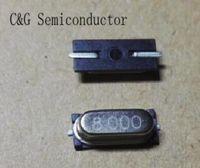 500 piezas HC-49S 49S 8MHZ 8M 8 MHZ SMD Cristal pasivo (4 mhz 6 mhz 10 mhz 12 mhz 16 mhz 20 mhz 25 mhz