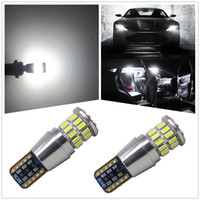 WLJH Canbus T10 W5W LED Car Styling Width Clearance Map Trun...