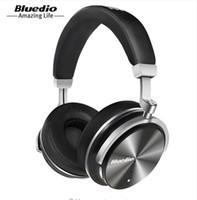 سماعات أذن محدودة زمنيا سماعة Bluedio T4 بلوتوث الجديدة المحمولة مع ميكروفون لسماعة الموسيقى