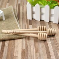 8cm 10cm 15cm 16cm à long miel Mini miel bâton en bois cincle Supply Parti cuillère bâton miel Stick pot