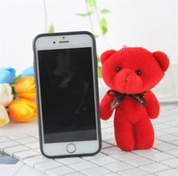 Teddy Bear Charm Pendant Plush Toys Stuffed Wedding Bear Key...