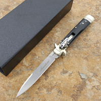 Italy 9 inch leverletto kris ox bone handle D2 blade pocket ...