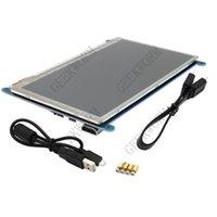 Freeshipping Raspberry Pi 3 Modello B da 7 pollici 1024 * 600 dello schermo TFT di tocco capacitivo Compatibile con Raspberry Pi win10 / 8/7