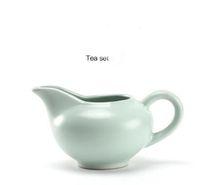 Yüksek kaliteli ince ve pürüzsüz sırlı adil fincan Çin chahai kongfu tieguanyin veya siyah çay aracı T11