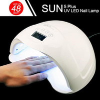 SUN5 Plus 48W UV LED Lamp Nail Dryer Dual Hands Nail Lamp Cu...