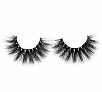 최고 품질의 Visofree False Lashes 손으로 만든 풀 스트립 래쉬 Crisscross 3D Mink Lashes D120 fluffy dramatic Eyelashes