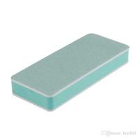 1 pc Uso Doméstico para dedo e toe unhas Em Ambos Os Lados bloco de Unha Polonês Ferramenta de Unhas Arquivos Buffers July25