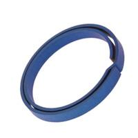 1 Unid Azul Titanio EDC Llavero Llavero Puro Llavero Dividido Hebilla Colgante Llavero Destornillador EDC Set Exterior Mini Portátil Herramienta