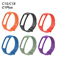 Silicone Strap Bracelet Band Fitness Replacement For C1S C18...