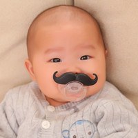 Funny Moustache Baby Pacifiers Children Novelty Dummy Beard ...