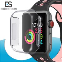 For Iwatch 4 Case 40mm 44mm 3D Touch Ultra Clear Soft TPU Co...