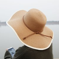 2019 new lady summer straw hat lightweight breathable shade ...