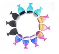 فرشاة ماكياج الأساس المصنع مباشرة حورية البحر ذيل السمكة فرش طول الوجه منظف فرش 8 سم